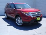 2014 Ruby Red Ford Explorer XLT #92388630