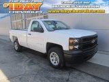 2014 Summit White Chevrolet Silverado 1500 WT Regular Cab 4x4 #92388370