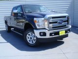 2014 Blue Jeans Metallic Ford F250 Super Duty XLT Crew Cab 4x4 #92388628