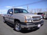 2004 Silver Birch Metallic Chevrolet Silverado 1500 LS Extended Cab #92388745