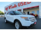 2013 Oxford White Ford Explorer XLT #92388444