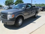 2014 Sterling Grey Ford F150 XL Regular Cab #92388419