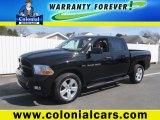 2012 Black Dodge Ram 1500 ST Crew Cab 4x4 #92388890