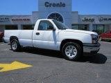 2006 Summit White Chevrolet Silverado 1500 Work Truck Regular Cab #92388611