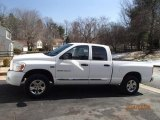 2006 Bright White Dodge Ram 1500 Laramie Quad Cab 4x4 #92434116