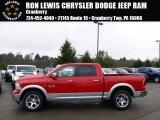 2014 Flame Red Ram 1500 Laramie Crew Cab 4x4 #92433675