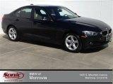 2014 Jet Black BMW 3 Series 320i Sedan #92433846