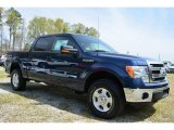 2014 Blue Jeans Ford F150 XLT SuperCrew 4x4 #92433741