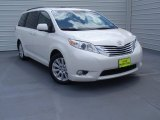 2011 Blizzard White Pearl Toyota Sienna Limited #92433837