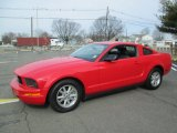 2006 Torch Red Ford Mustang V6 Premium Coupe #92434022
