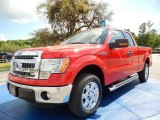2014 Race Red Ford F150 XLT SuperCab #92433660