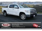2014 Super White Toyota Tundra Limited Crewmax 4x4 #92433472