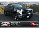 2014 Black Toyota Tundra SR5 TRD Crewmax 4x4 #92433467