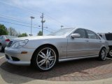 2004 Brilliant Silver Metallic Mercedes-Benz S 55 AMG Sedan #92434011