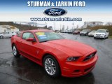 2013 Race Red Ford Mustang V6 Premium Coupe #92433700