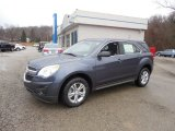 2014 Atlantis Blue Metallic Chevrolet Equinox LS AWD #92433636