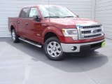 2014 Ruby Red Ford F150 XLT SuperCrew #92433821