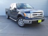2014 Blue Jeans Ford F150 XLT SuperCab #92433819