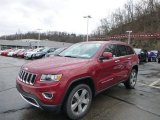 2014 Deep Cherry Red Crystal Pearl Jeep Grand Cherokee Limited 4x4 #92433893