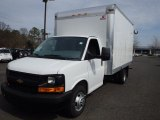 2014 Summit White Chevrolet Express Cutaway 3500 Moving Van #92433509