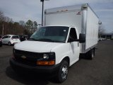 2014 Summit White Chevrolet Express Cutaway 3500 Moving Van #92433508