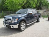 2014 Blue Jeans Ford F150 Lariat SuperCrew 4x4 #92475317