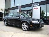 2008 Brilliant Black Audi A4 3.2 Quattro S-Line Sedan #9242472