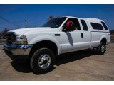 2004 Oxford White Ford F250 Super Duty XL SuperCab 4x4 #92488783