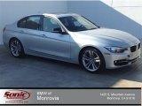 2014 Glacier Silver Metallic BMW 3 Series 328i Sedan #92497736
