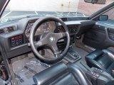 1986 BMW 6 Series Interiors