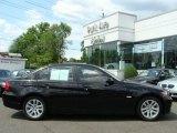 2007 Jet Black BMW 3 Series 328i Sedan #9234044