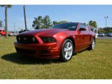 2014 Ruby Red Ford Mustang GT Premium Coupe #92497764