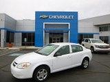 2007 Summit White Chevrolet Cobalt LS Sedan #92497708