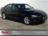 2014 Jet Black BMW 3 Series 320i Sedan #92497741