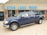 2014 Blue Jeans Ford F150 XLT SuperCrew 4x4 #92497825