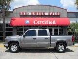 2006 Graystone Metallic Chevrolet Silverado 1500 LT Crew Cab 4x4 #9235518