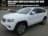 2014 Bright White Jeep Grand Cherokee Limited 4x4 #92522192