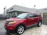2013 Ruby Red Metallic Ford Explorer Limited 4WD #92522242