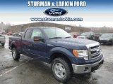 2014 Blue Jeans Ford F150 XLT SuperCab 4x4 #92522106