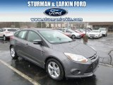 2014 Sterling Gray Ford Focus SE Hatchback #92522101