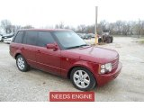 2004 Alveston Red Metallic Land Rover Range Rover HSE #92522350