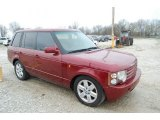 2004 Land Rover Range Rover Alveston Red Metallic