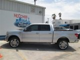 2014 Ingot Silver Ford F150 Limited SuperCrew 4x4 #92522026