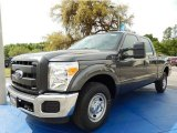 2015 Magnetic Ford F250 Super Duty XL Crew Cab #92522088
