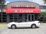 2002 Stone White Chrysler Sebring Limited Convertible #9235515