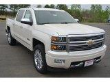 2014 White Diamond Tricoat Chevrolet Silverado 1500 High Country Crew Cab 4x4 #92522322