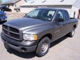 2005 Mineral Gray Metallic Dodge Ram 1500 ST Quad Cab #9234392