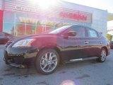 2014 Super Black Nissan Sentra SR #92551100