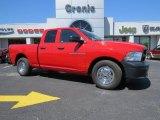 2012 Flame Red Dodge Ram 1500 ST Quad Cab #92551024
