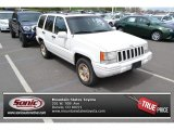1996 Stone White Jeep Grand Cherokee Limited 4x4 #92550793